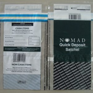 Tampervoid SCEC endorsed deposit bags